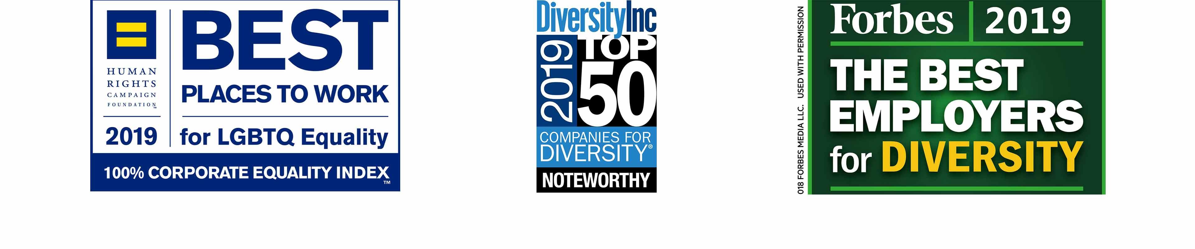 Diversity Awards Logos 2019