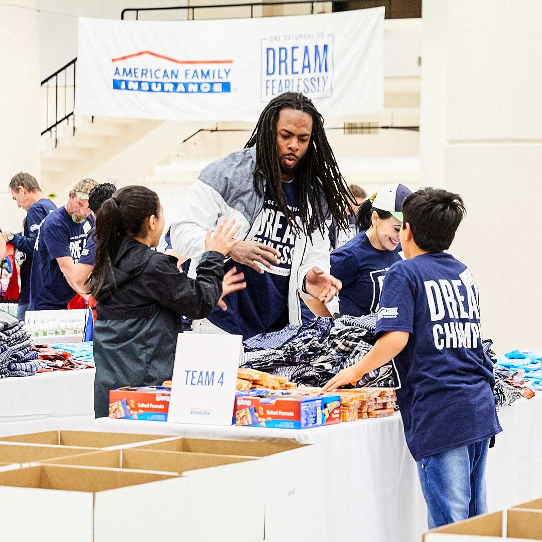 Richard Sherman and Amfam
