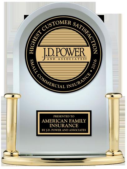 JD Power trophy