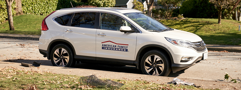 American Family Insurance Catastrophe Vehicle