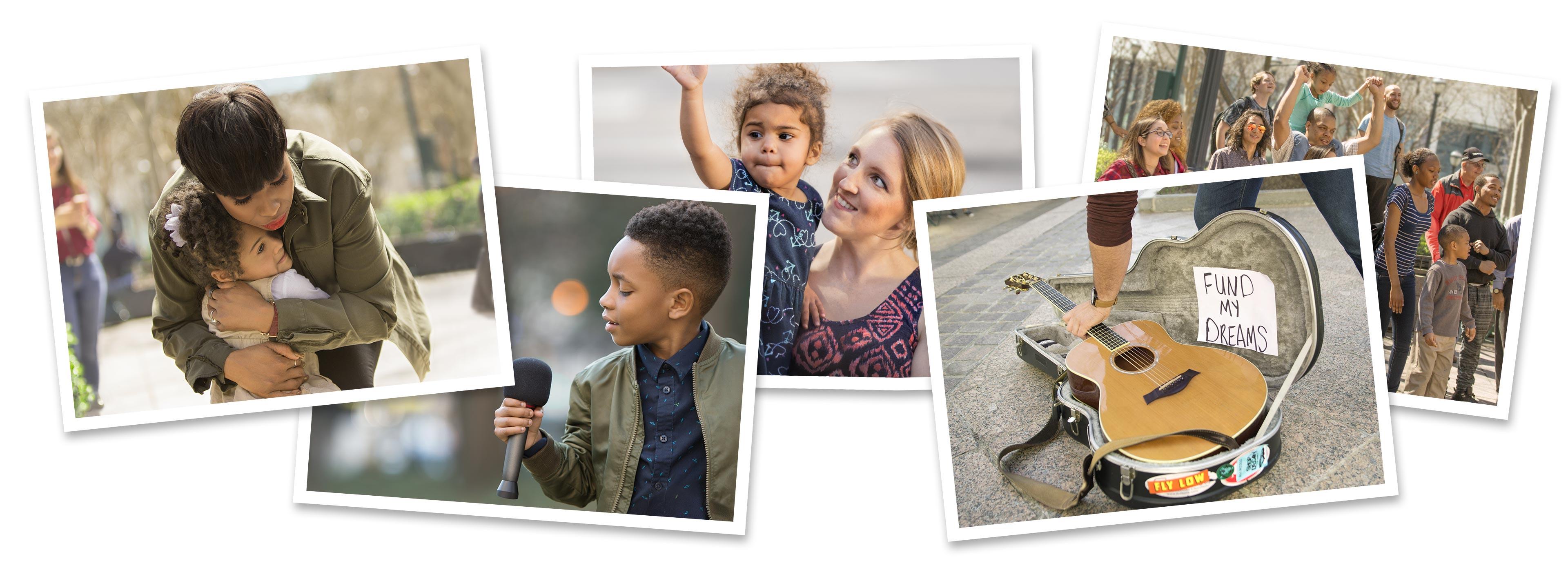 One Saturday Campaign - Photo collage